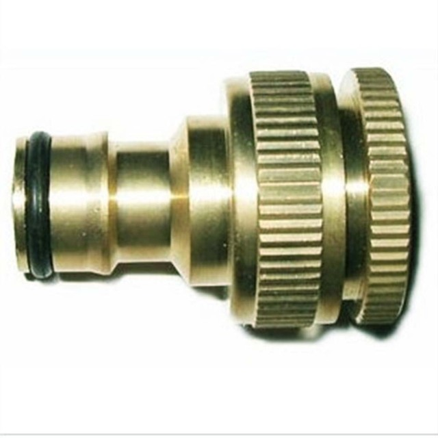Standard Copper Faucet Washing Machine Hose Pipe Fittings Brass 1/2 ...