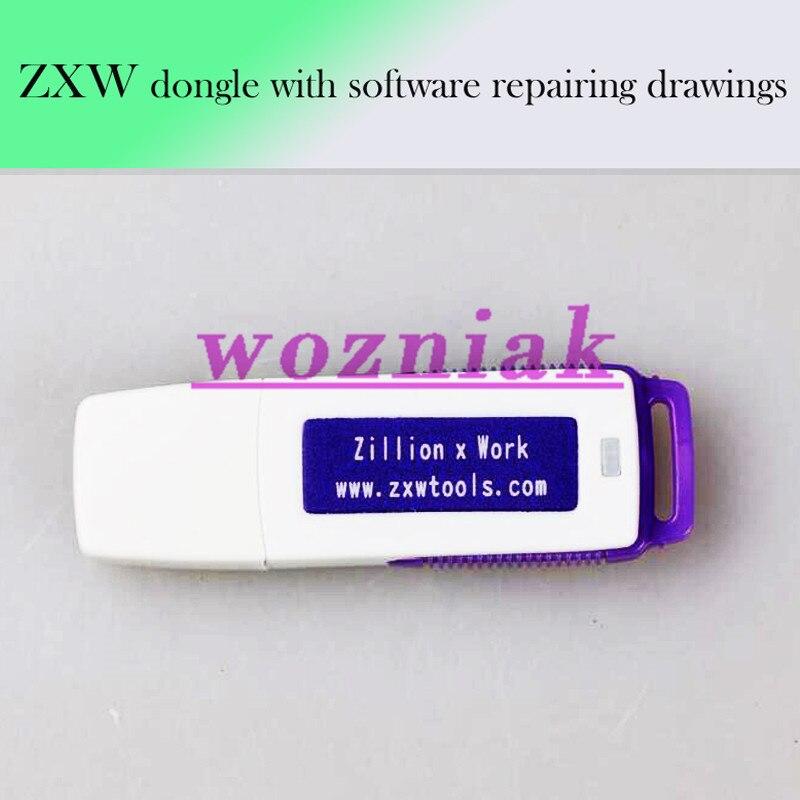 Возняк 100% оригинал мильонов х Работа ZXW Dongle ремонт мобильного телефона схема ремонт мобильного телефона PCB схема