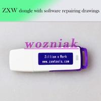 Wozniak 100 Original Zillion X Work ZXW DONGLE Repair Mobile Phone Circuit Board Repair Mobile Phone
