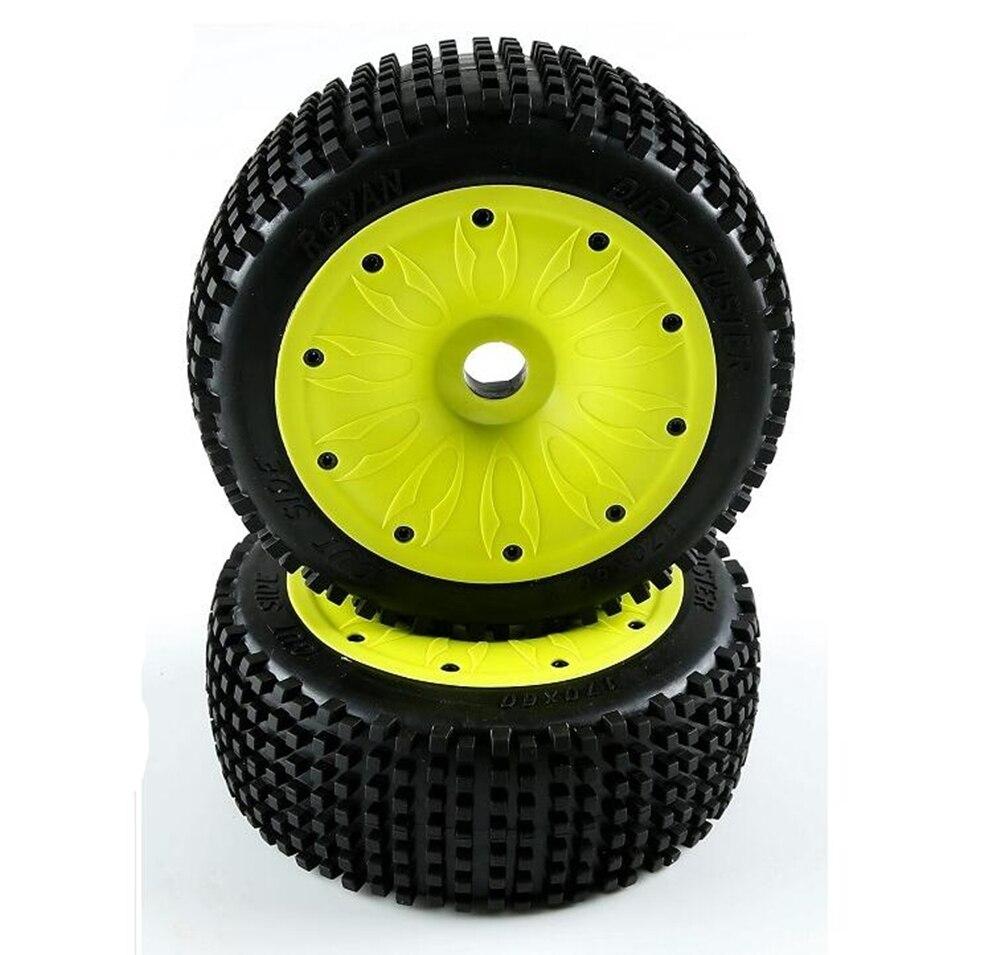 2 pcsum par de pneus off road
