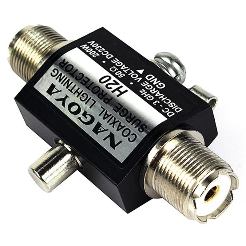 NOUVEAU NAGOYA H20 UHF/SO-239 Type 200 W 50Ohm 3 GHz parafoudre parasurtenseur/Coaxial Éclairage Surge Protector
