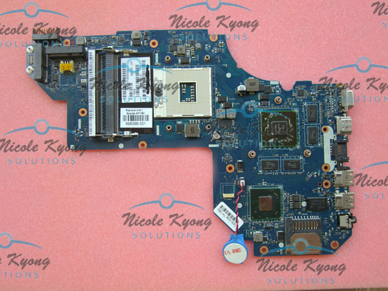 купить 698399-501 698399-001 QCL50 LA-8711P 215-0833000 HD 7670M non-intergrated MotherBoard SYSTEM BOARD for HP ENVY M6 M6-1000 по цене 5396.79 рублей