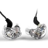 Newest TRN V10 2DD 2BA Hybrid In Ear Earphone HIFI DJ Monitor Running Sport Earphone Earplug