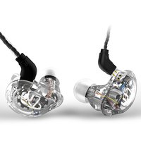 Newest TRN V10 2DD 2BA Hybrid In Ear Earphone HIFI DJ Monitor Running Sport Earphone Earplug