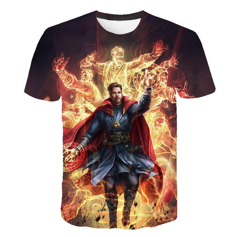 3D Avengers Endgame Realm Cosplay T-shirt Iron Man Captain Captain America Black Widow Costume Sport Tight Tees Dropship