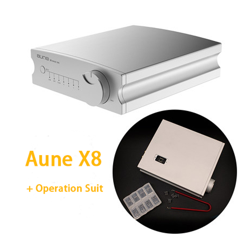 Digital-analog-wandler Aune X8 Hifi Dac Audio Decoder Es9038q2m Usb Dac Amp Dsd512 Koaxial Optische Pcm32bit 768 Khz Tragbares Audio & Video