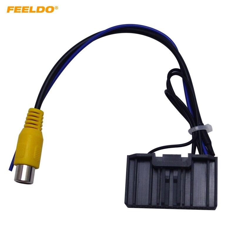 Feeldo 10x Car Parking Reverse Rear Camera Video Plug Converter Cable Adapter For Honda Jade/crider Oem Car Head Unit Models Cables, Adapters & Sockets Automobiles & Motorcycles