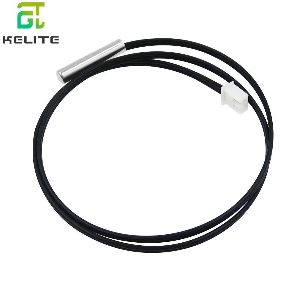 HAILANGNIAO Hot 50cm NTC Thermistor Temperature Sensor Waterproof Probe Wire 10K 1% 3950 W1209 W1401 Cable