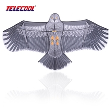 TELECOOL High Quality Diy Kite Outdoor Fun Sports 1.8m Eagle kite Flying Higher Big Kites Factory Color Kite Easy Fly