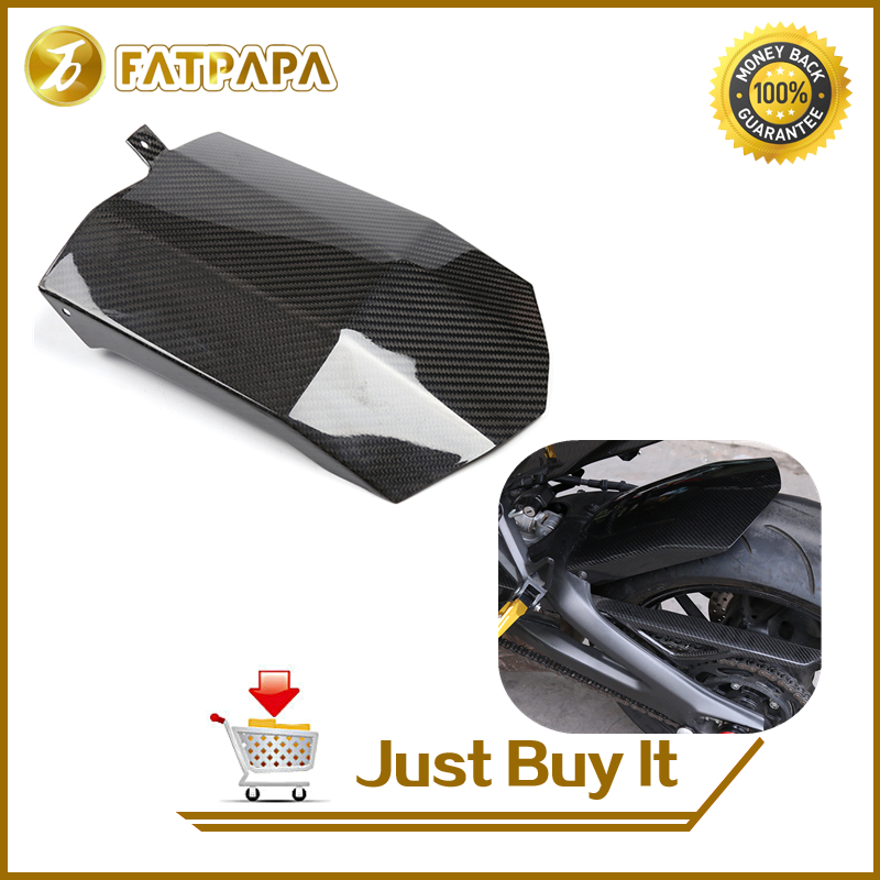 Free Shipping Motorcycle Accessories FZ09 MT09 Carbon Fiber Rear Fender for Yamaha MT-09 FZ-09 FZ09 MT09 MT FZ 09 2014 - 2017 125cc cbt125 carburetor motorcycle pd26jb cb125t cb250 twin cylinder accessories free shipping