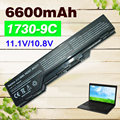 6600mAh 9 cells Laptop Battery For dell  XPS M1730 0XG510 312-0680 HG307 WG317 XG510