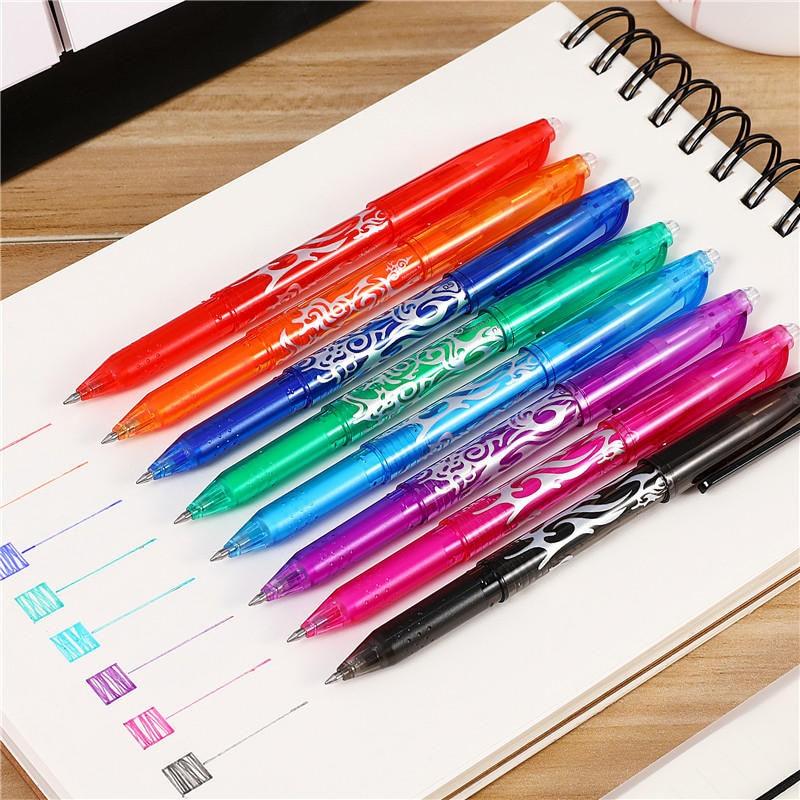1 PC 8 Colors Creative Erasable Pen Magic Rainbow Gel Pen Writing Student Pen Canetas Office School Stationary Supplies 040199