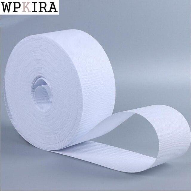 Cortina de punzonado, accesorios de tela de cortina de cinta plisada, gancho romano, cinta de anillo, tela blanca no tejida, cinta de anilla cp101 y 20