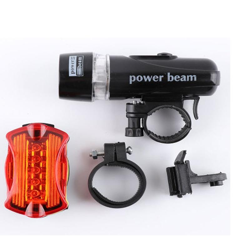Высокое качество 5 Led велосипедный передний фонарь + задний фонарь набор Водонепроницаемый дорожный MTB горный велосипед задний фонарь велос...