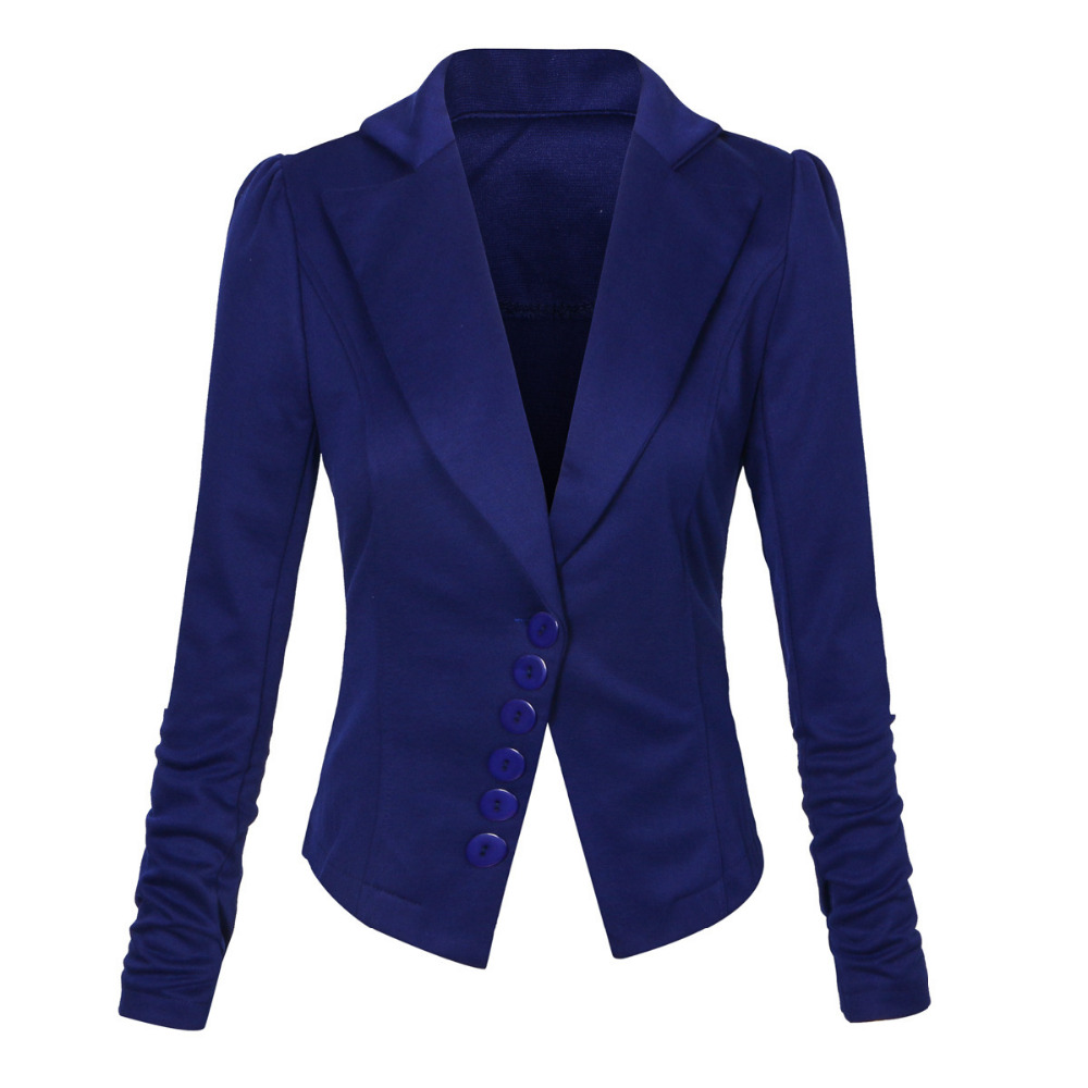 Compare Prices on Black Fitted Blazer Womens- Online Shopping/Buy
