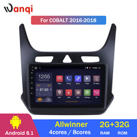 2G RAM 32G ROM Android 8.1 9 inch Touchscreen GPS Navigation Radio for 2016 2017 2018 Chevrolet cobalt
