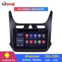 2G ram 32G rom Android 8,1 9 дюймов сенсорный экран GPS навигация Радио для 2016 2017 2018 Chevrolet cobalt