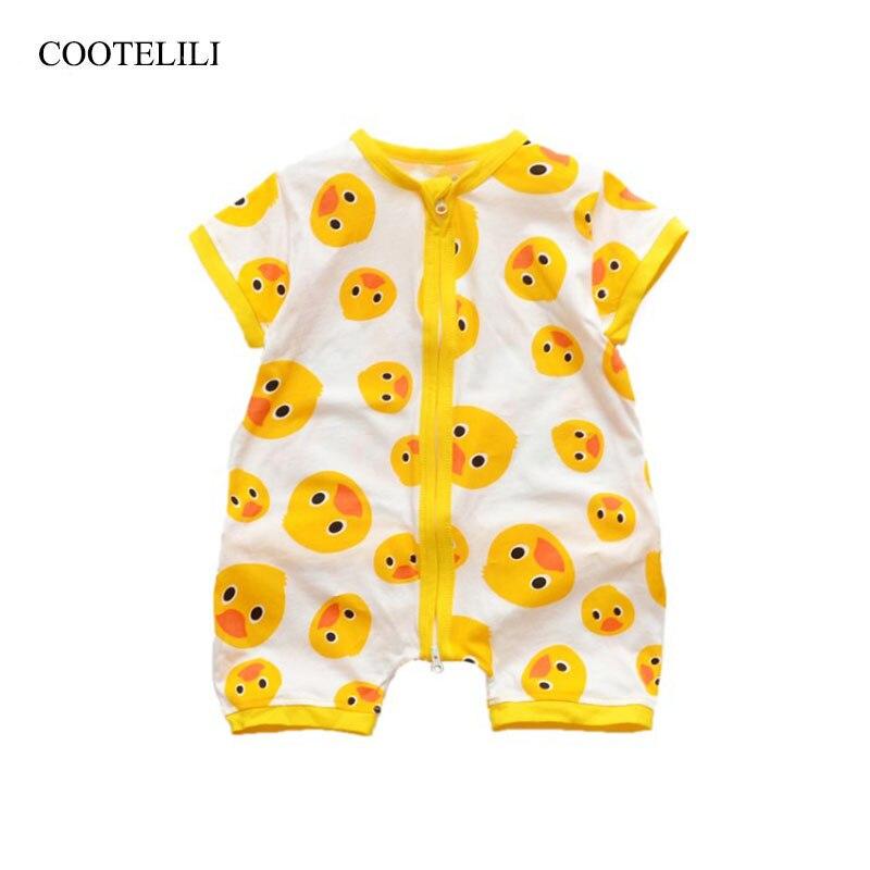 COOTELILI/милые животные для маленьких девочек одежда Pijama де, для мальчиков Летняя Одежда для мальчиков удобные пижамы 80-130