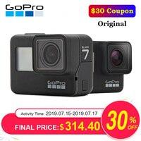 Original GoPro Action Camera HERO 7 Black 4K 60fps 1080P 240fps video Go Pro Sport cam 12MP Photo wifi Live Streami Hyper Smooth