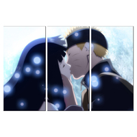Modern HD Printed Painting On Canvas Home 3 Panel Naruto Cartoon Characters Decor Posters Frame Living