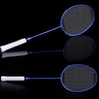 Graphite Single Badminton Racquet Professional Carbon Fiber Badminton Racket with Carrying Bag FH99