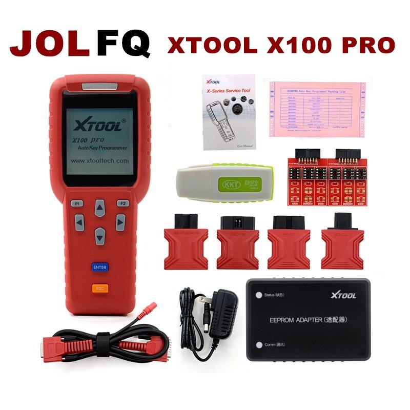Xtool X100 Pro Auto Key Programmer ECM Reset ECU Immobilizer X100pro Immobilizer Programming Diagnostic Tool Free