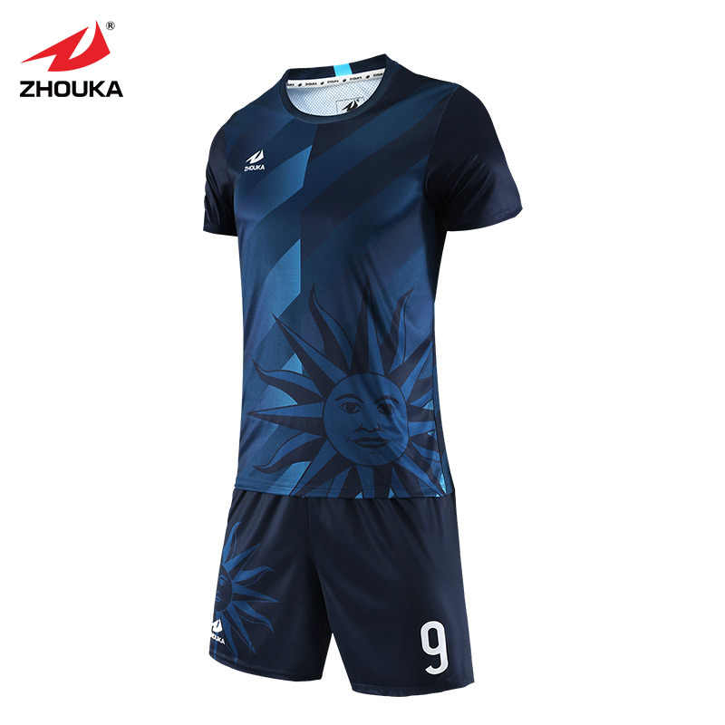 289829ee8a1 ... 2019 fashion cool soccer jerseys Sets customization football uniforms  for team full printing name and number ...