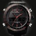 Naviforce marca de lujo de relojes deportivos hombres de acero led del ejército reloj militar hombres de cuarzo analógico digital reloj del relogio masculino 2017