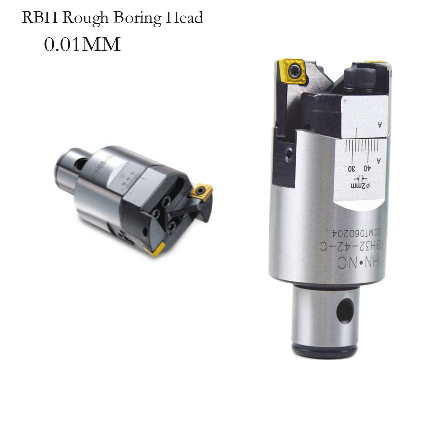 free delievery High precision RBH25-33mm Twin-bit Rough Boring Head used for deep holes accuracy 0.02mm used for deep holes ccmt120408 high precision rbh90 122mm twin bit rough lbk6 boring head used for deep holes accuracy used for deep holes