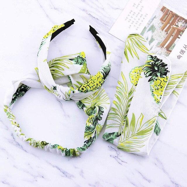 eda434e28c2 Top Grade 3PCS Set Women Girls Printed Headband Hair Accessories Hair Band  Korean 2018 Hot Sale New Arrival Unique 5 Colors Cute