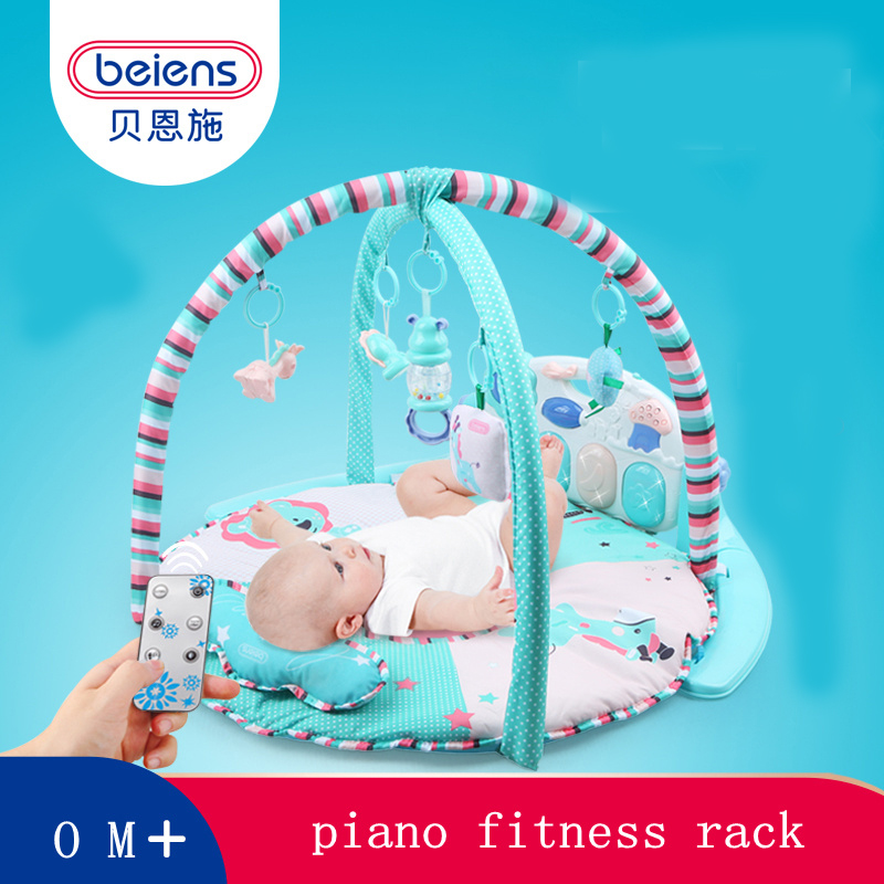 Beiens mat baby carpet play for kids mats music pad developmental puzzle exercise infant toys fot kids children musical toy sassy seat doorway jumper 5 toys with musical play mat