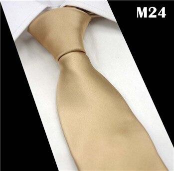 SCST Brand Handmade Gravata 2017 New Classic Solid Gold Silk Neck Ties For Men Tie Mens Wedding Neckties Slim Necktie CR034
