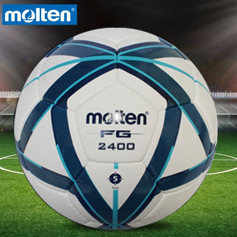 Original Molten VG980 F5G2400 Tamanho 5 PU Bola Jogo Profissional balon bola  de futebol gol b08b4a5ef27b8