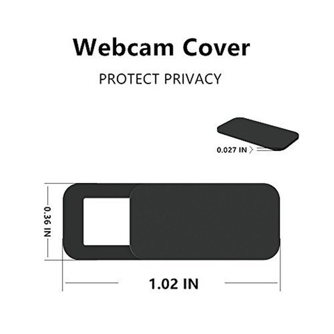 6Pack TEHRAN Webcam Cover Shutter Magnet Slider Plastic Camera Cover for Laptops Mobile Phone Lens Privacy Sticker Karachi