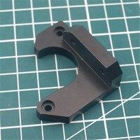 1 set prusa i3 mk3 금속 y 축 스테퍼 모터 홀더 검정색 알루마이트 알루미늄 합금|3D 프린터 부품 & 액세사리|   -