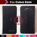 ! Cubot s200 caso del tirón del teléfono cubierta de la caja protectora de cuero para cubot s200 diseño monedero de cuero de lujo envío gratis