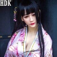 HDK 168 cm Thực Japanese Búp Bê Tình Dục Cho Nam Giới Trưởng Thành Realistic Tình Yêu Doll Mou Pussy Âm Đạo Nam TPE Vú Silicon Masturbator