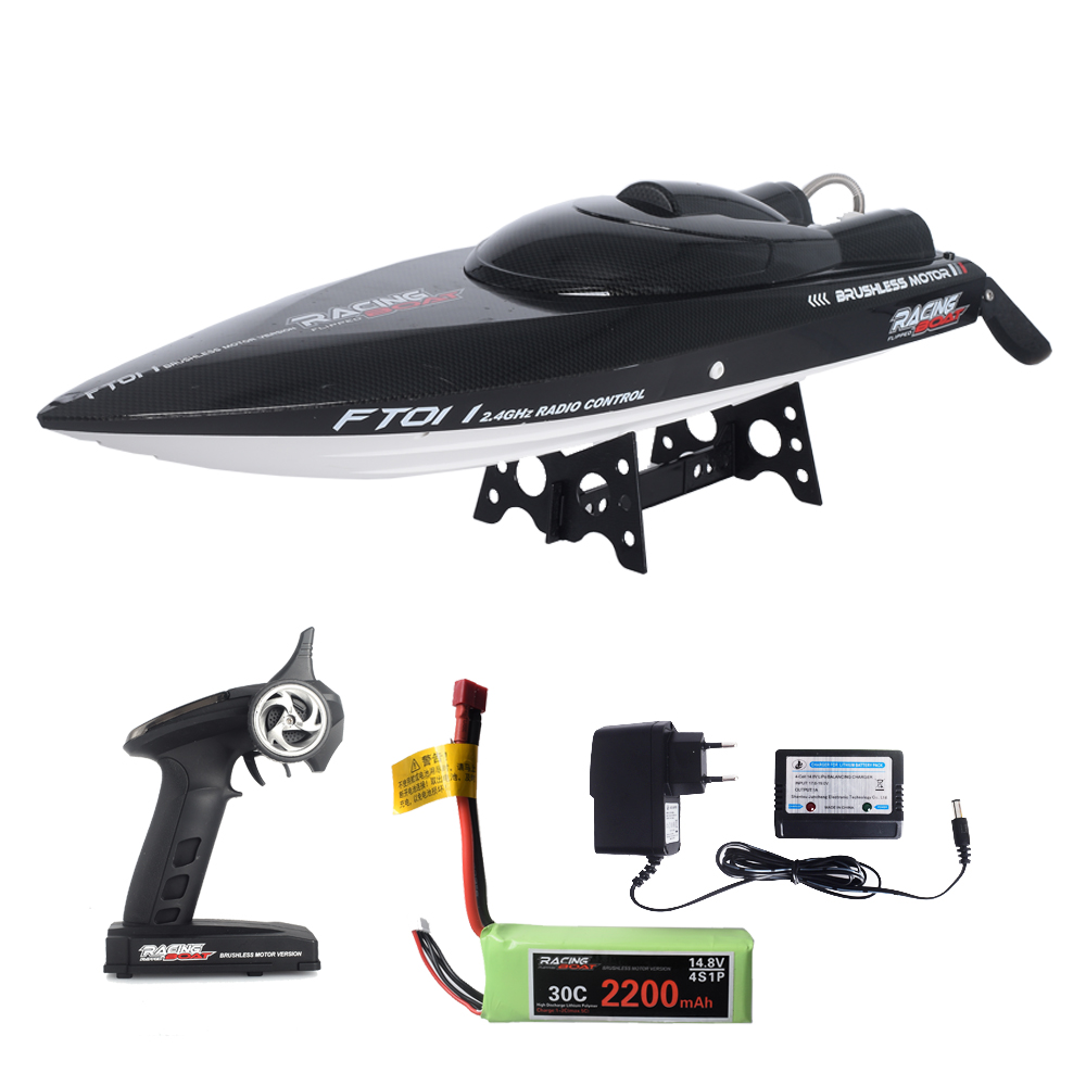Feilun FT011 55KM/H High Speed Boat large RC Boat Electric Radio Control SpeedBoats Ship Model for Kids pool water play free shipping peradix 2pcs high speed rc boat radio control rechargeable rc boat inflatable pool toys