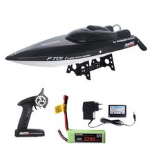Feilun FT011 55KM/H High Speed Boat large RC Electric Radio Control Speeds Ship Model for Kids pool water play