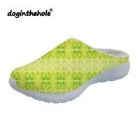 doginthehole Sport Sandals Green Outdoor Beach Shoes for Women Summer Womens Clogs Water Shoes 2019 Flat Slippers Lightweight