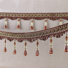 Curtain Accessories Hanging Spike Beads Curtain Accessories Small Diamond Lace Tassel Dragon Beard Curtain Accessories