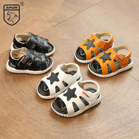 Toddler Sandals For Boy Summer Cute Baby Boy Sandals Breathable Casual Shoes Soft Infant First Walkers