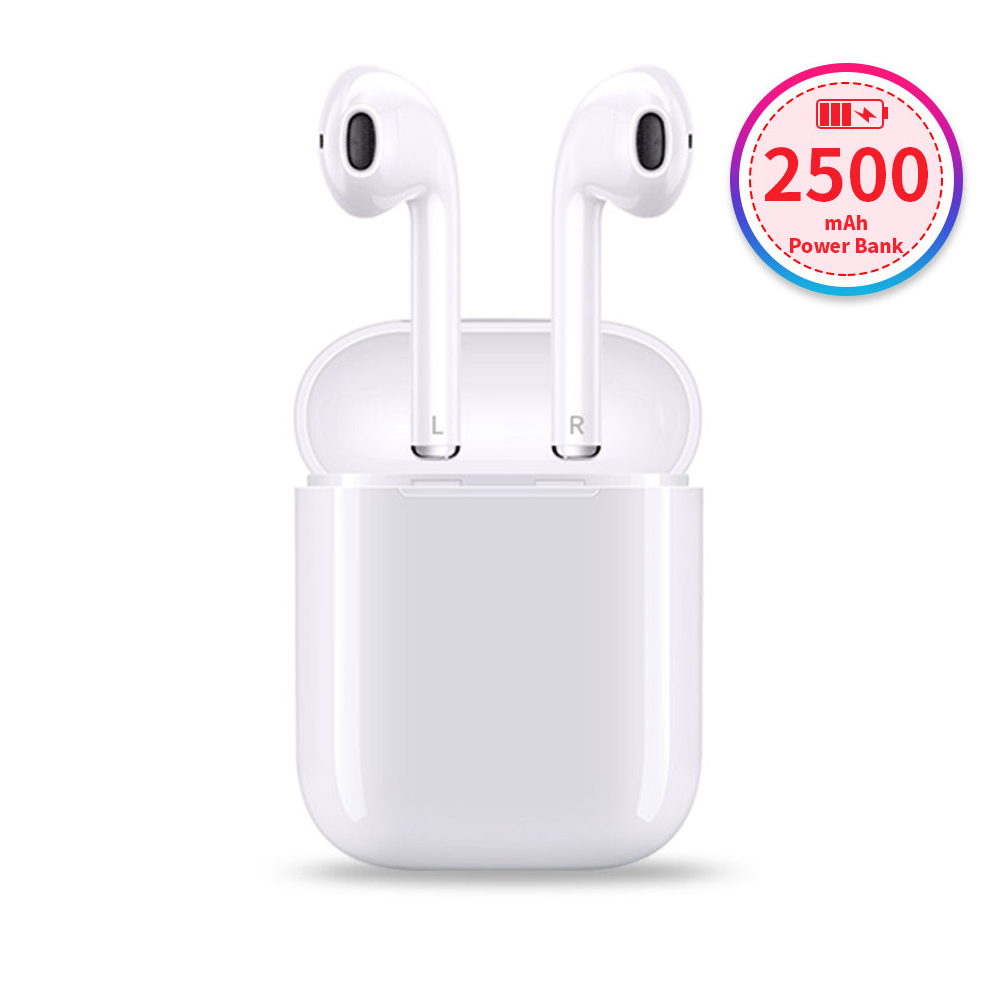 все цены на Samload Wireless Headphone Bluetooth 5.0 earphones 2500mAh Power Bank with Charging Box For Apple iPhone 7 8 Xiaomi earbuds Sony онлайн