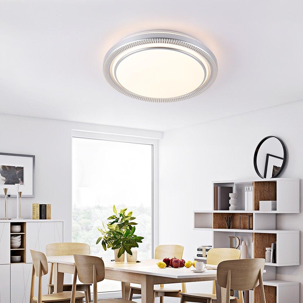 Moderne 220v 80w Ronde LED Plafond Verlichting Lampen Armaturen met Afstandsbediening voor Indoor Thuis Huis Woonkamer keuken Slaapkamer - 3