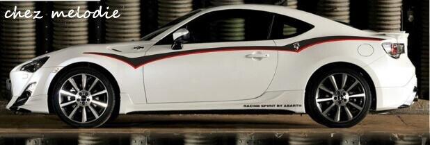 KK top qualité voiture carrosserie toit porte taille ligne coffre film autocollant papier pour Subaru BRZ/Toyota GT86 FT86/Volkswagen Scirocco