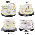 DC 12V RGB LED Strip 5M 300LED 5050 5630 2835 3014 Not Waterproof Fita LED Light Flexible Neon Lamp Tira LED 12V Tape Christmas