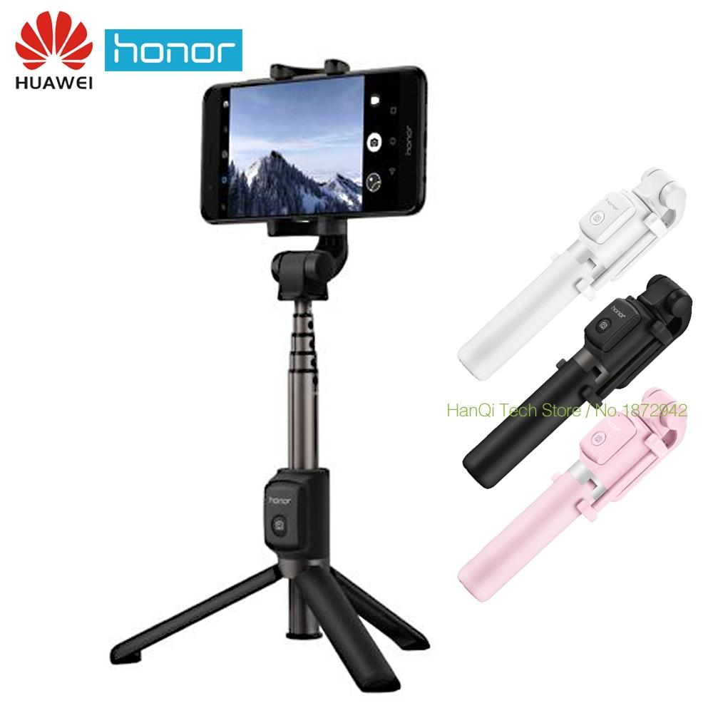 Original Huawei honor Bluetooth selfie stick trípode inalámbrico monopod extensible handheld trípode titular para iOS teléfonos Android