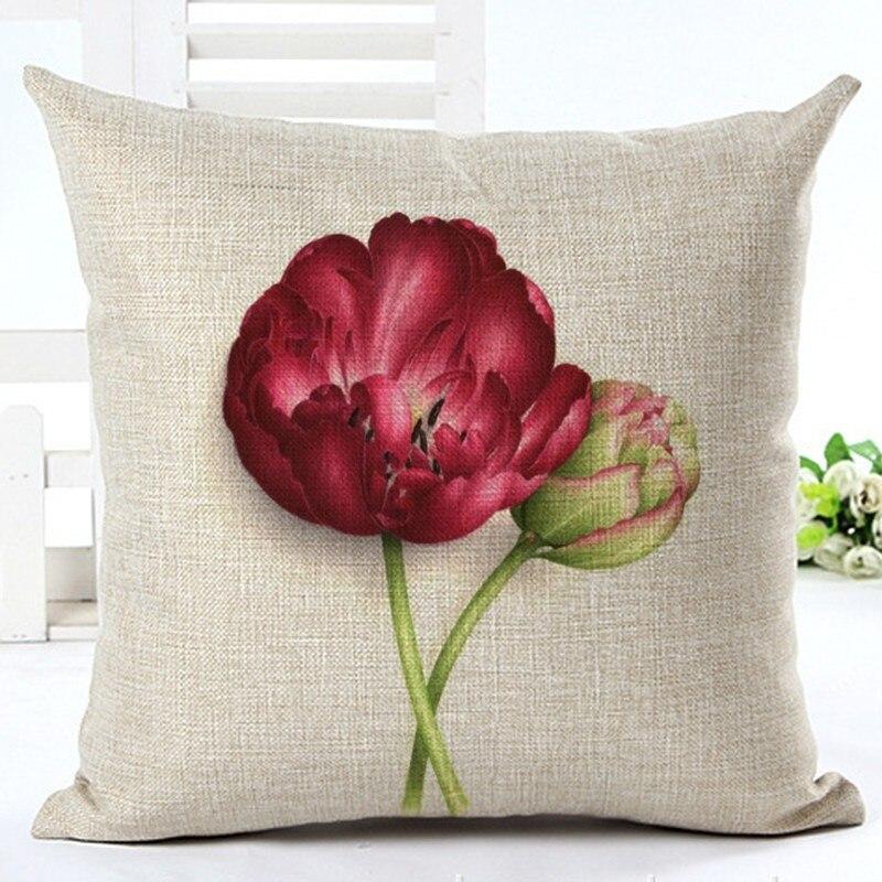 Géométrique Imprimé Canapé Cushion Cover Home Decor Houseware lin Jeter Oreiller