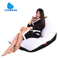 LEVMOON Beanbag Sofa Chair Cowboy Garfield Seat Zac Comfort Bean Bag Bed Cover Without Filler Cotton