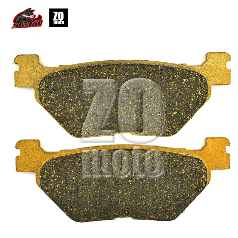 ZOMOTO Motorcycle Disc Brake Pads FA319 fit for XP 500 T-MAX YAMAHA ROAD BIKE XVS 950 FJR 1300 YAMAHA DIRT BIKE XT 1200 Z disc brake pads set fit for yamaha xp500 tmax tmax500 xp 500 n p r t max 2001 2002 2003 1300 stryker 2011 2012 2013 2014 2015